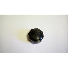 CLANSMAN LARKSPUR SOCKET PROTECTIVE CAP BLACK PLASTIC SCREW ON TYPE.